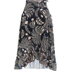 Spódniczki trapezowe: Soaked in Luxury UNA SKIRT Spódnica z zakładką dark blue