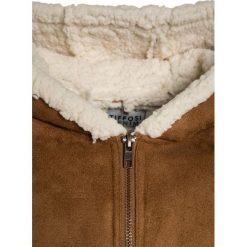 Tiffosi HILLARY Płaszcz zimowy beige. Brązowe kurtki chłopięce marki Tiffosi, na zimę, z materiału. W wyprzedaży za 199,20 zł.