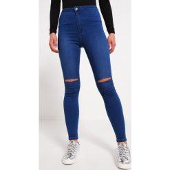 Missguided VICE  Jeans Skinny Fit blue. Niebieskie jeansy damskie Missguided. Za 149,00 zł.