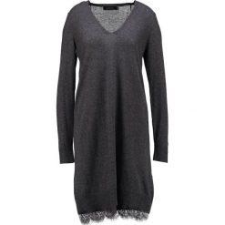 Sukienki dzianinowe: Cortefiel Sukienka dzianinowa grey