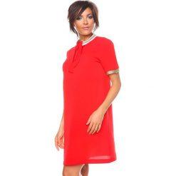 """Sukienki hiszpanki: Sukienka """"Addie"""" w kolorze czerwonym"""