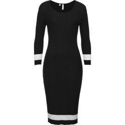 Sukienka dzianinowa bonprix czarny. Czarne sukienki balowe marki Reserved. Za 109,99 zł.