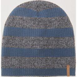 Czapka w paski - Granatowy. Niebieskie czapki zimowe męskie House. Za 29,99 zł.