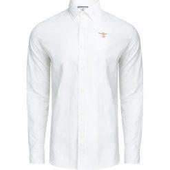 Koszule męskie na spinki: Koszula AERONAUTICA MILITARE Biały