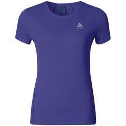 Odlo Koszulka T-shirt s/s SHAILA granatowa r. XL. Niebieskie topy sportowe damskie marki Odlo, s. Za 99,95 zł.