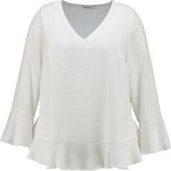 Bluzki asymetryczne: Evans FRILL FLUTED SLEEVE  Bluzka off white