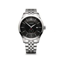 ZEGAREK VICTORINOX SWISS ARMY Alliance 241762. Czarne zegarki męskie Victorinox, ze stali. Za 2450,00 zł.