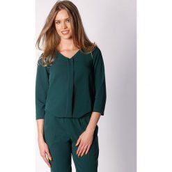 Kombinezony damskie: Kombinezon w kolorze zielonym
