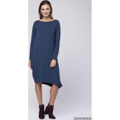Sukienka asymetryczna. Szare sukienki asymetryczne marki Mohito, l, z asymetrycznym kołnierzem. Za 190,00 zł.