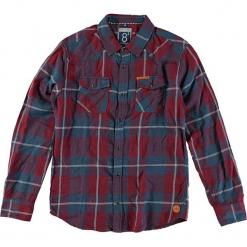 """Koszula """" Broome"""" w kolorze czerwono-niebieskim. Czerwone koszule chłopięce marki Cars Jeans, w kratkę, z klasycznym kołnierzykiem. W wyprzedaży za 69,95 zł."""