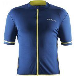 Craft Koszulka Rowerowa Męska Classic Dark Blue L. Niebieskie odzież rowerowa męska Craft, l. W wyprzedaży za 129,00 zł.