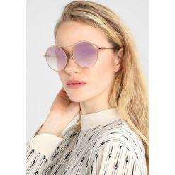 Calvin Klein Okulary przeciwsłoneczne shiny rose goldcoloured. Czerwone okulary przeciwsłoneczne damskie lenonki Calvin Klein. W wyprzedaży za 503,20 zł.