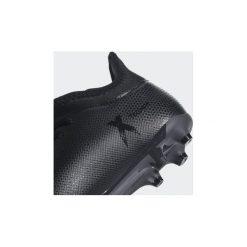 Trampki Dziecko  adidas  Buty X 17.3 FG. Czarne trampki chłopięce marki Adidas, z materiału. Za 249,00 zł.