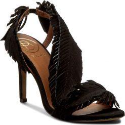 Rzymianki damskie: Sandały BALDOWSKI – D01511-3436-S18 Zamsz Czarny