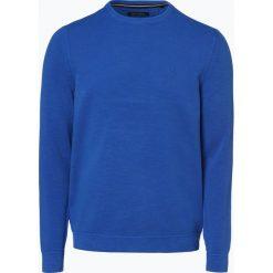 Marc O'Polo - Sweter męski, niebieski. Niebieskie swetry klasyczne męskie Marc O'Polo, m, z dzianiny, polo. Za 399,95 zł.