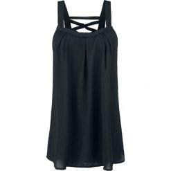 Voodoo Vixen Crepe Fashion Top Top damski czarny. Czarne topy damskie Voodoo Vixen, xl, z materiału. Za 121,90 zł.