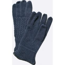 Pepe Jeans - Rękawiczki Martin. Szare rękawiczki męskie marki Pepe Jeans, z dzianiny. W wyprzedaży za 89,90 zł.