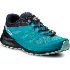 Buty SALOMON - Sense Pro 2 W 398502 20 W0 Enamel Blue/Navy Blazer/Eggshell Blue. Niebieskie buty do biegania damskie Salomon, z materiału. W wyprzedaży za 389,00 zł.