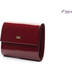 Ciemnoczerwona damska kopertówka - 2