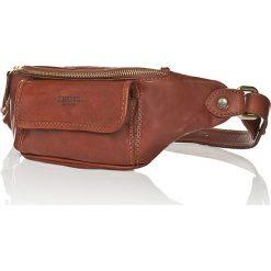Skórzana saszetka w kolorze brązowym - 10 x 33 x 4 cm. Brązowe torby na ramię męskie marki Kazar, ze skóry, przez ramię, małe. W wyprzedaży za 211,95 zł.