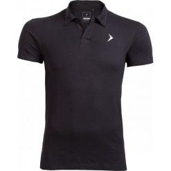 Koszulka polo męska TSM610A - czarny - Outhorn. Czarne koszulki polo Outhorn, na lato, m, z bawełny. W wyprzedaży za 39,99 zł.