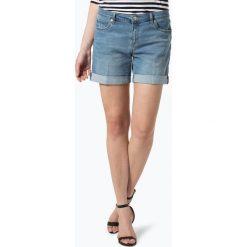 Bermudy damskie: Marie Lund – Damskie krótkie spodenki jeansowe, niebieski
