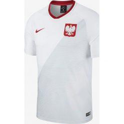 Koszulki do piłki nożnej męskie: Nike Koszulka męska Reprezentacji Polski FTBL Top SS Home  biała r. S (893891 100)