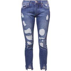 True Religion LIV  Jeansy Slim Fit cobold blue. Niebieskie rurki damskie True Religion. W wyprzedaży za 679,20 zł.