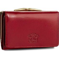 Mały Portfel Damski STEFANIA - SV-011D Czerwony. Czarne portfele damskie marki Stefania, ze skóry. Za 119,00 zł.