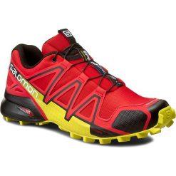 Buty SALOMON - Speedcross 4 381154 27 V0 Radiant Red/Black/Corona Yellow. Czerwone buty trekkingowe męskie Salomon, z materiału, na sznurówki, do biegania, salomon speedcross. W wyprzedaży za 369,00 zł.