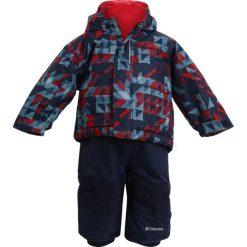 Columbia BUGA SET Kurtka narciarska collegiate navy/checkers. Różowe kurtki chłopięce sportowe marki Columbia. W wyprzedaży za 319,20 zł.