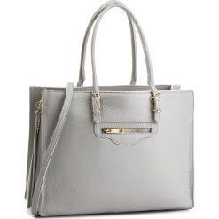 Torebka CREOLE - K10534  Szary. Szare torebki klasyczne damskie Creole, ze skóry. W wyprzedaży za 239,00 zł.