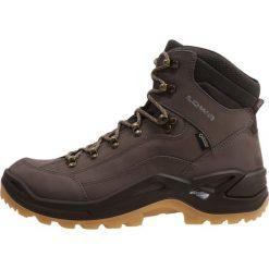 Lowa RENEGADE GTX MID Buty trekkingowe stone. Szare buty trekkingowe męskie Lowa, z materiału, outdoorowe. Za 809,00 zł.