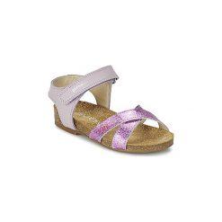 Sandały Dziecko  Garvalin  MOLLY. Fioletowe sandały dziewczęce marki Garvalin. Za 207,20 zł.