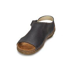 Sandały El Naturalista  TORCAL RO. Czarne sandały trekkingowe damskie marki El Naturalista. Za 295,20 zł.