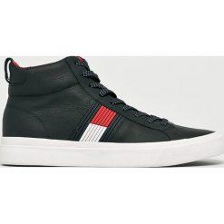 Tommy Hilfiger - Buty. Szare buty skate męskie TOMMY HILFIGER, z materiału, na sznurówki. Za 499,90 zł.