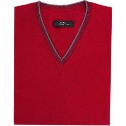 Sweter FABRIZIO 15-93SR. Czerwone swetry klasyczne męskie Giacomo Conti, m, z wełny. Za 199,00 zł.