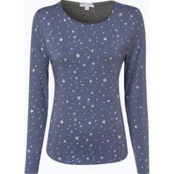 Marie Lund - Damska koszulka z długim rękawem, niebieski. Niebieskie t-shirty damskie marki Marie Lund, l, z haftami. Za 89,95 zł.