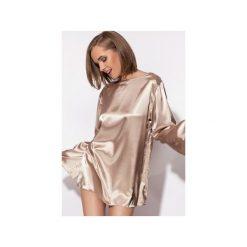 Piżamy damskie: Piżama Simply złota