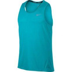Nike Koszulka męska DF Cool Tailwind turkusowa r. S (724914 418). Niebieskie t-shirty męskie Nike, m. Za 159,00 zł.