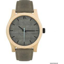 Drewniany zegarek męski classic 43 mm n024. Szare zegarki męskie marki Pakamera. Za 399,00 zł.