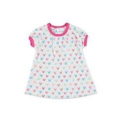 Sukienki niemowlęce: pink or blue Sukienka serce