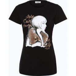 Liu Jo Collection - T-shirt damski, czarny. Czarne t-shirty damskie Liu Jo Collection, l, z nadrukiem. Za 399,95 zł.