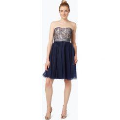 Laona - Damska sukienka koktajlowa, niebieski. Niebieskie sukienki hiszpanki Laona, xs, z koronki, z gorsetem, gorsetowe. Za 599,95 zł.