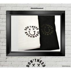 T-shirt Smile Black. Czarne t-shirty męskie marki Pakamera, m, z kapturem. Za 139,00 zł.