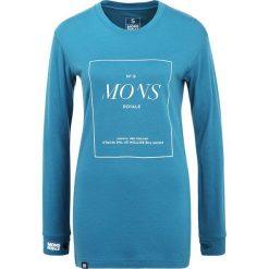Podkoszulki damskie: Mons Royale BOYFRIEND STACK Podkoszulki blue steel