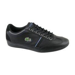 Buty sportowe męskie: LACOSTE Buty męskie Misano Sport 118 1 czarne r. 44.5 (CAM00831Z2)