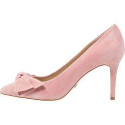 Buty ślubne damskie: Buffalo Czółenka rose/tan