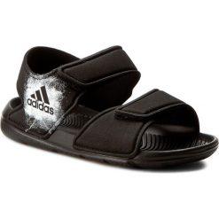 Sandały adidas - AltaSwim C BA9288 Cblack/Ftwwht/Cblack. Czarne sandały chłopięce Adidas, z materiału. Za 129,00 zł.