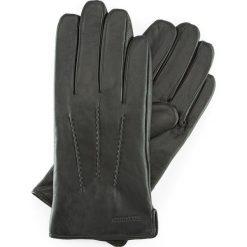 Rękawiczki męskie 39-6-709-1. Czarne rękawiczki męskie marki Wittchen. Za 99,00 zł.
